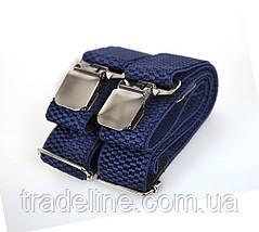 Подтяжки мужские Dovhani P003-3DBLUE-555 Синие, фото 2