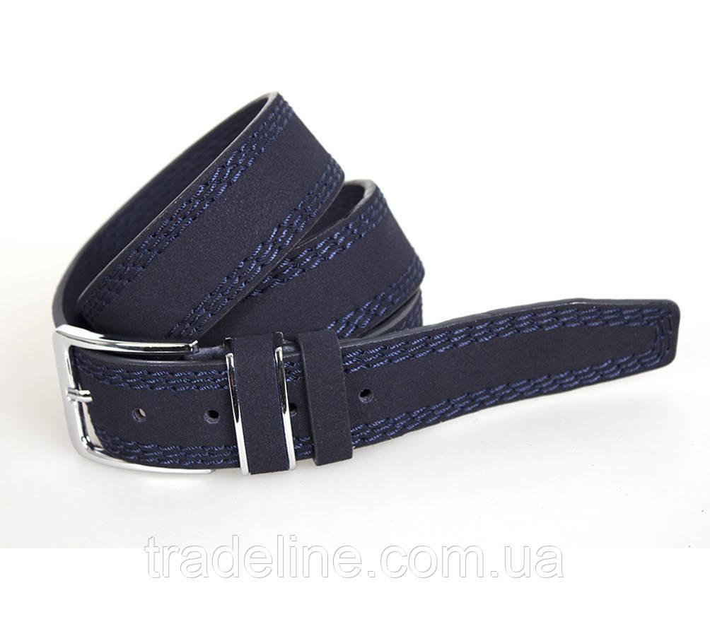 Мужской ремень Dovhani DH3503-5BLUE-555 115 см Синий