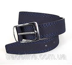 Мужской ремень Dovhani DH3503-5BLUE-555 115 см Синий, фото 2