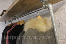 Вішалка для одягу LOFT DESIGN 63316, НАТУРАЛЬНЕ ДЕРЕВО, меблі Лофт Виробництво в Києві, фото 3