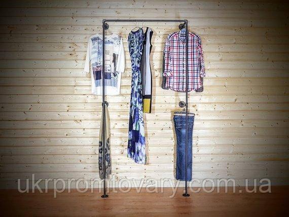 Вішалка для одягу LOFT DESIGN 63351, НАТУРАЛЬНЕ ДЕРЕВО, меблі Лофт Виробництво в Києві