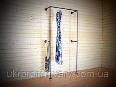 Вішалка для одягу LOFT DESIGN 63351, НАТУРАЛЬНЕ ДЕРЕВО, меблі Лофт Виробництво в Києві, фото 3