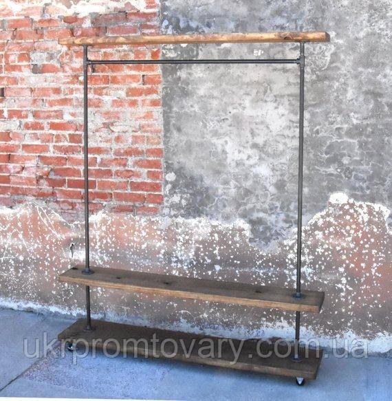 Вешалка для одежды LOFT DESIGN 63352, НАТУРАЛЬНОЕ ДЕРЕВО, мебель Лофт Производство в Киеве