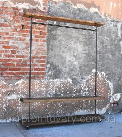 Вешалка для одежды LOFT DESIGN 63352, НАТУРАЛЬНОЕ ДЕРЕВО, мебель Лофт Производство в Киеве, фото 2