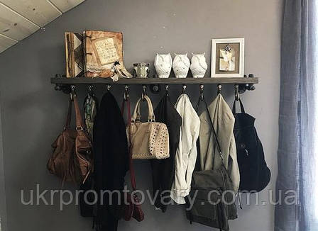 Вешалка для одежды LOFT DESIGN 63364, НАТУРАЛЬНОЕ ДЕРЕВО, мебель Лофт Производство в Киеве, фото 2