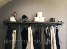 Вішалка для одягу LOFT DESIGN 63364, НАТУРАЛЬНЕ ДЕРЕВО, меблі Лофт Виробництво в Києві, фото 3