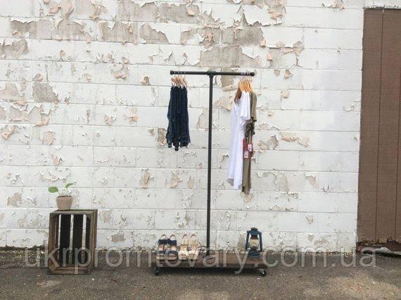 Вешалка для одежды LOFT DESIGN 63374, НАТУРАЛЬНОЕ ДЕРЕВО, мебель Лофт Производство в Киеве