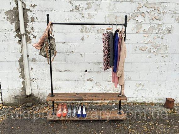 Вешалка для одежды LOFT DESIGN 63375, НАТУРАЛЬНОЕ ДЕРЕВО, мебель Лофт Производство в Киеве