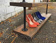 Вешалка для одежды LOFT DESIGN 63375, НАТУРАЛЬНОЕ ДЕРЕВО, мебель Лофт Производство в Киеве, фото 3