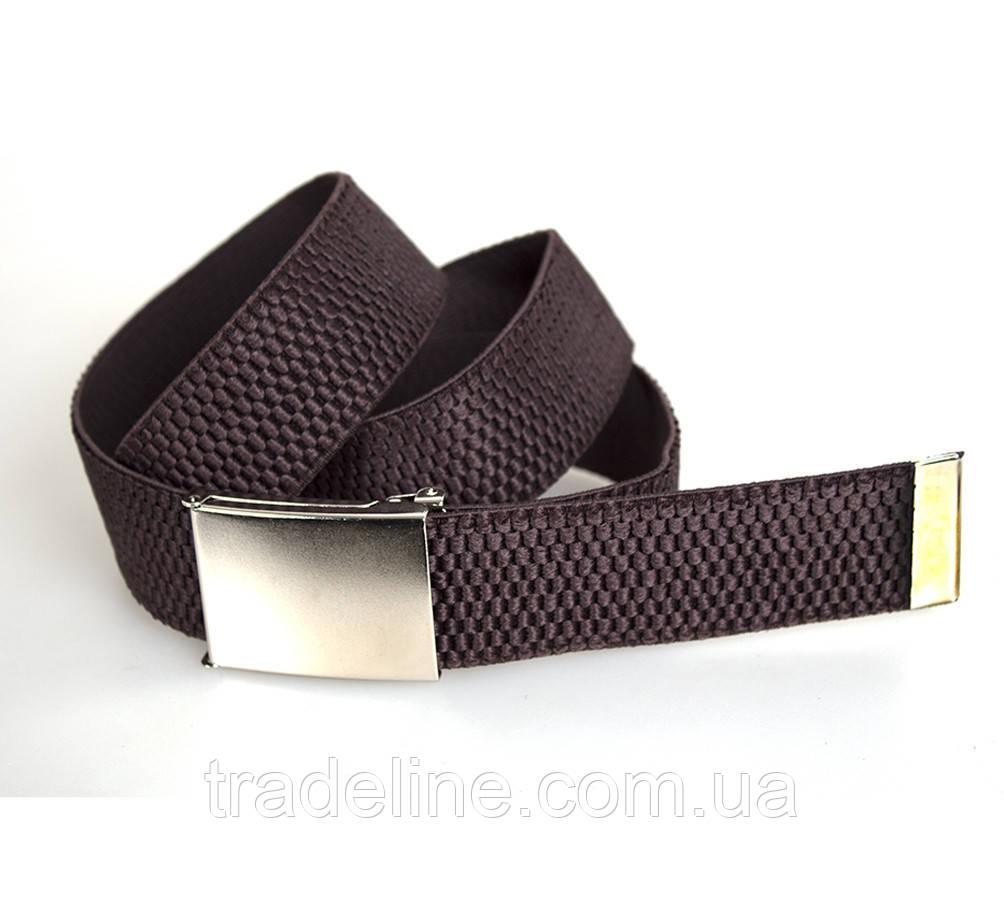 Мужской текстильный ремень Dovhani DH3503-16COFFEE-555 115 см Коричневый