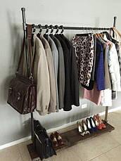 Вешалка для одежды LOFT DESIGN 63384, НАТУРАЛЬНОЕ ДЕРЕВО, мебель Лофт Производство в Киеве, фото 3