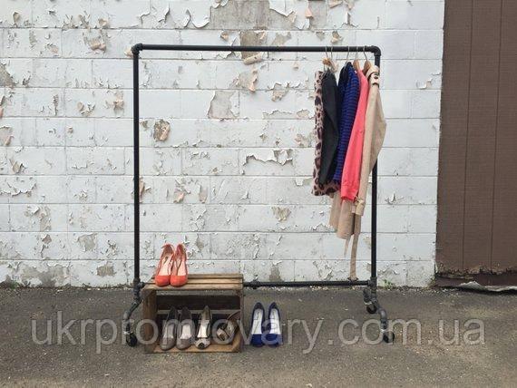 Вішалка для одягу LOFT DESIGN 63385, НАТУРАЛЬНЕ ДЕРЕВО, меблі Лофт Виробництво в Києві