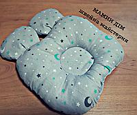 Ортопедична подушечка для немовлят з вушками