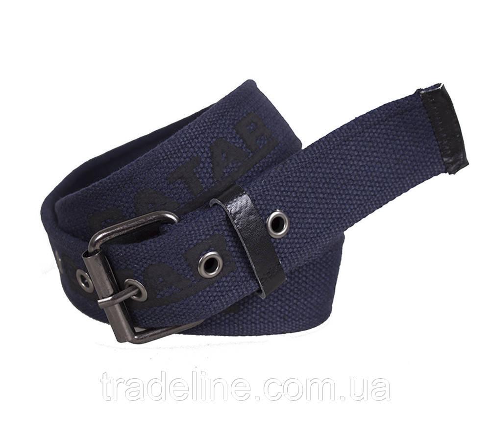 Мужской текстильный ремень Gatar E5698-18GBLUE-555 115-130 см Синий