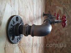 Вішалка для одягу LOFT DESIGN 63396, НАТУРАЛЬНЕ ДЕРЕВО, меблі Лофт Виробництво в Києві, фото 2
