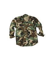 Рубашка с длинным рукавом MilTec Rip Stop Woodland 10915020