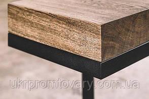 Барний стілець LOFT DESIGN 63411, НАТУРАЛЬНЕ ДЕРЕВО, меблі Лофт Виробництво в Києві, фото 3
