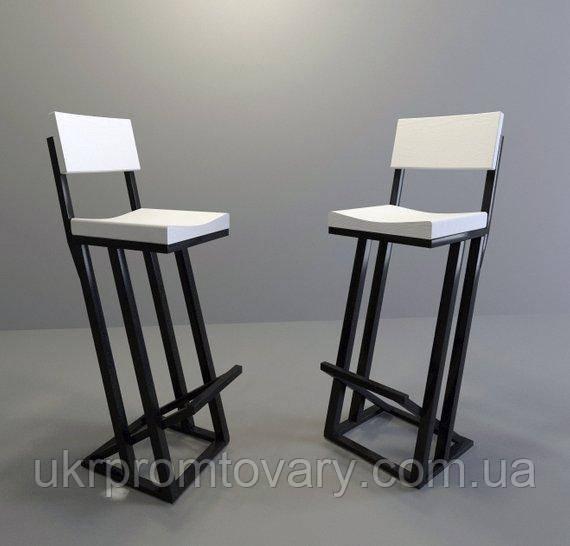 Барний стілець LOFT DESIGN 63418, НАТУРАЛЬНЕ ДЕРЕВО, меблі Лофт Виробництво в Києві