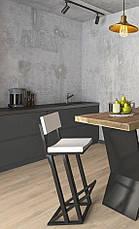 Барний стілець LOFT DESIGN 63418, НАТУРАЛЬНЕ ДЕРЕВО, меблі Лофт Виробництво в Києві, фото 3