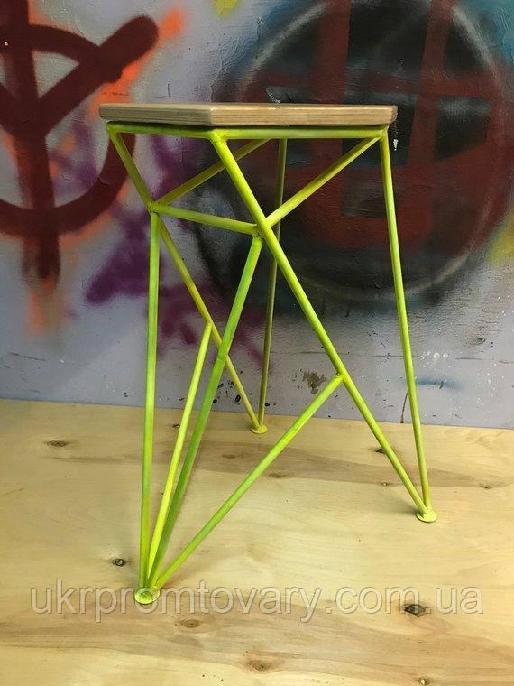 Барный стул LOFT DESIGN 63420, НАТУРАЛЬНОЕ ДЕРЕВО, мебель Лофт Производство в Киеве