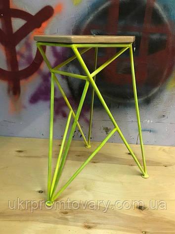 Барный стул LOFT DESIGN 63420, НАТУРАЛЬНОЕ ДЕРЕВО, мебель Лофт Производство в Киеве, фото 2