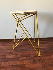 Барный стул LOFT DESIGN 63420, НАТУРАЛЬНОЕ ДЕРЕВО, мебель Лофт Производство в Киеве, фото 3