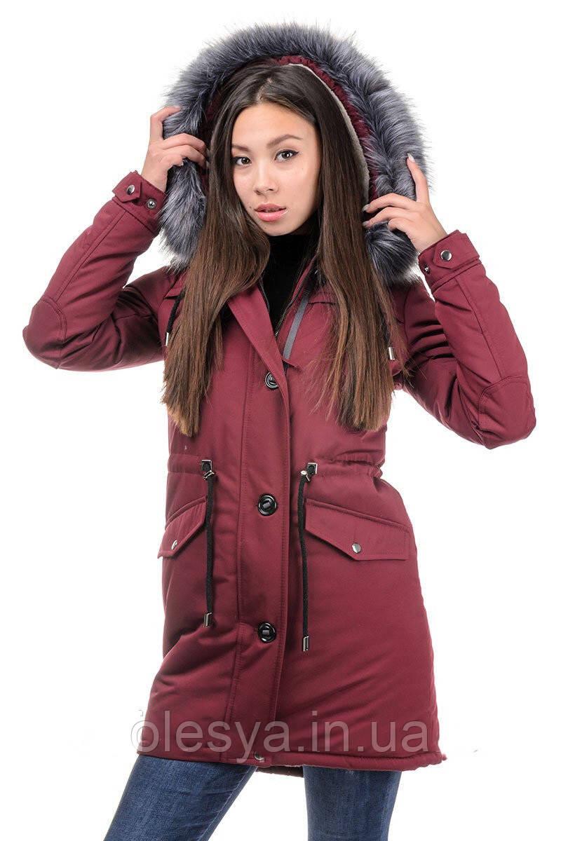 Куртка-парка  женская Фокс Размеры 42- 54