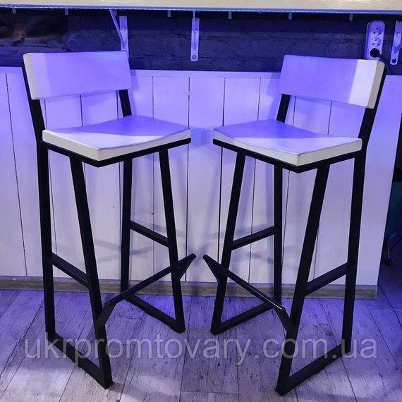 Барний стілець LOFT DESIGN 63432, НАТУРАЛЬНЕ ДЕРЕВО, меблі Лофт Виробництво в Києві