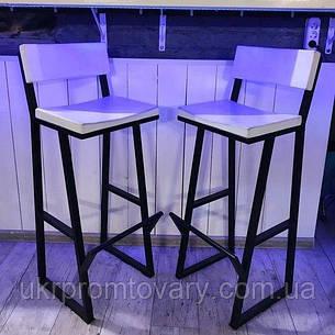 Барний стілець LOFT DESIGN 63432, НАТУРАЛЬНЕ ДЕРЕВО, меблі Лофт Виробництво в Києві, фото 2