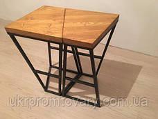 Барный стул LOFT DESIGN 63438, НАТУРАЛЬНОЕ ДЕРЕВО, мебель Лофт Производство в Киеве, фото 2