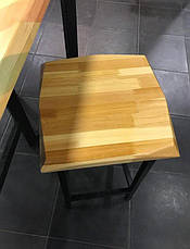 Барный стул LOFT DESIGN 63445, НАТУРАЛЬНОЕ ДЕРЕВО, мебель Лофт Производство в Киеве, фото 2