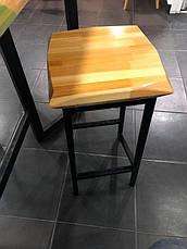 Барный стул LOFT DESIGN 63445, НАТУРАЛЬНОЕ ДЕРЕВО, мебель Лофт Производство в Киеве, фото 3