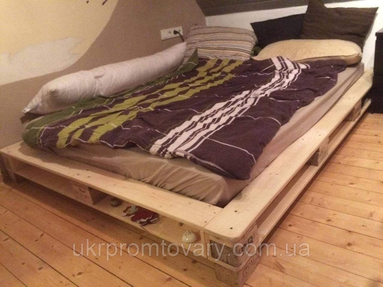 Кровать LOFT DESIGN 63556, НАТУРАЛЬНОЕ ДЕРЕВО, мебель Лофт Производство в Киеве