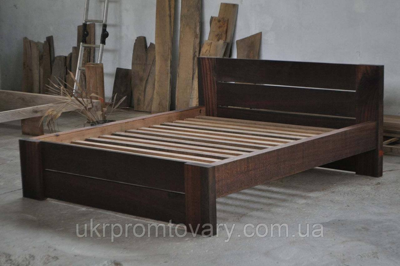 Кровать LOFT DESIGN 63573, НАТУРАЛЬНОЕ ДЕРЕВО, мебель Лофт Производство в Киеве