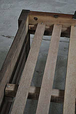 Кровать LOFT DESIGN 63573, НАТУРАЛЬНОЕ ДЕРЕВО, мебель Лофт Производство в Киеве, фото 2