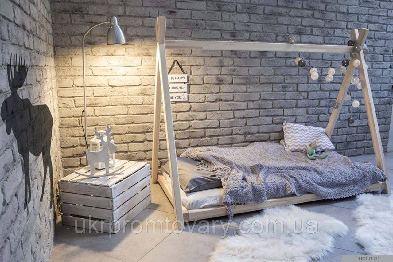 Кровать LOFT DESIGN 63583, НАТУРАЛЬНОЕ ДЕРЕВО, мебель Лофт Производство в Киеве