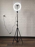 Профессиональная кольцевая LED лампа 26см, кольцевой свет для визажисто, блогера купить в Киев, Харьков, Днепр