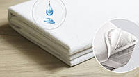 Непромокаемый наматрасник махровый на резинках 120х60 в детскую кроватку