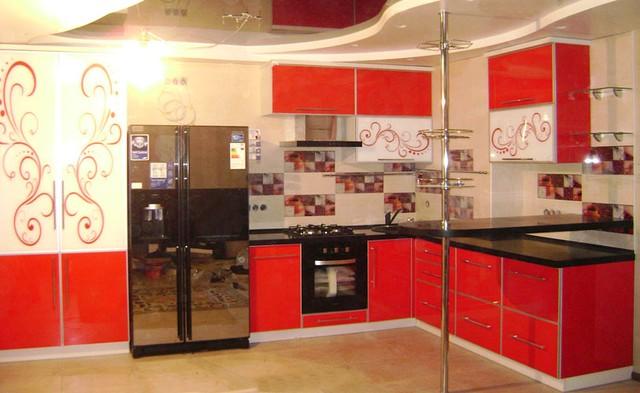 """Кухни с крашенными фасадами глянец - Дизайн-студія """"Меблі Дорадо"""" в Кропивницком"""