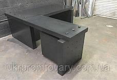 Робочий стіл LOFT DESIGN 63886, НАТУРАЛЬНЕ ДЕРЕВО, меблі Лофт Виробництво в Києві, фото 3