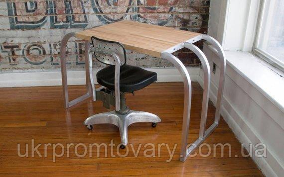 Рабочий стол LOFT DESIGN 638107, НАТУРАЛЬНОЕ ДЕРЕВО, мебель Лофт Производство в Киеве