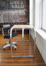 Рабочий стол LOFT DESIGN 638107, НАТУРАЛЬНОЕ ДЕРЕВО, мебель Лофт Производство в Киеве, фото 2