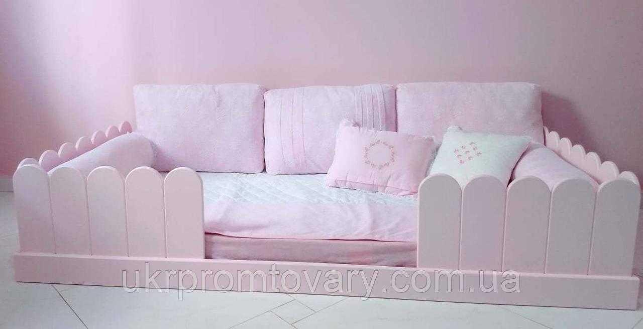 Ліжко LOFT DESIGN 6401, НАТУРАЛЬНЕ ДЕРЕВО, меблі Лофт Виробництво в Києві