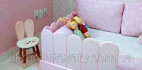 Ліжко LOFT DESIGN 6401, НАТУРАЛЬНЕ ДЕРЕВО, меблі Лофт Виробництво в Києві, фото 2