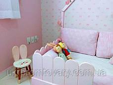 Кровать LOFT DESIGN 6409, НАТУРАЛЬНОЕ ДЕРЕВО, мебель Лофт Производство в Киеве, фото 2