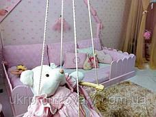 Кровать LOFT DESIGN 6409, НАТУРАЛЬНОЕ ДЕРЕВО, мебель Лофт Производство в Киеве, фото 3