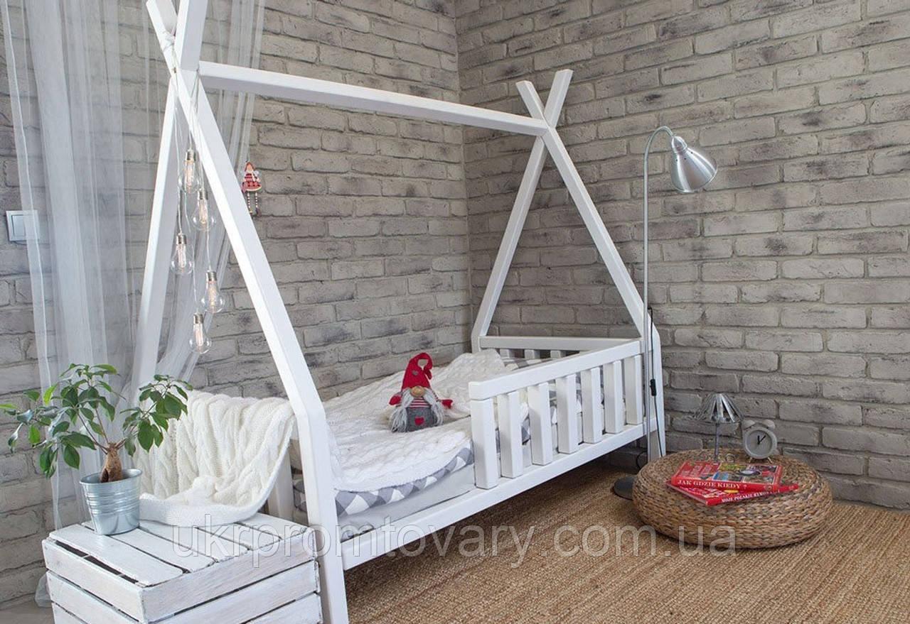 Кровать LOFT DESIGN 64018, НАТУРАЛЬНОЕ ДЕРЕВО, мебель Лофт Производство в Киеве