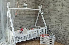 Кровать LOFT DESIGN 64018, НАТУРАЛЬНОЕ ДЕРЕВО, мебель Лофт Производство в Киеве, фото 2