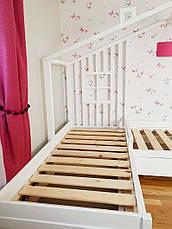 Кровать LOFT DESIGN 64025, НАТУРАЛЬНОЕ ДЕРЕВО, мебель Лофт Производство в Киеве, фото 2