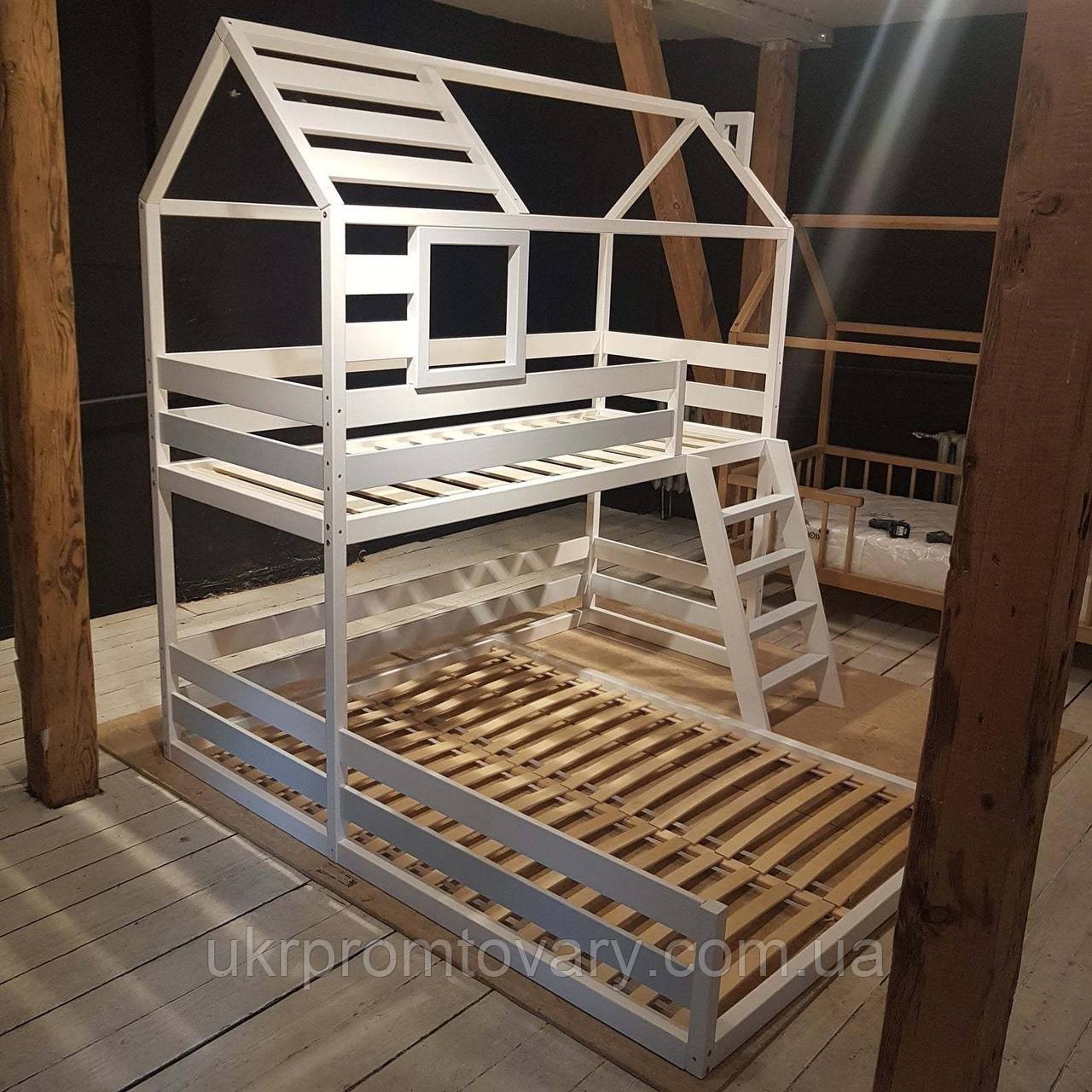Кровать LOFT DESIGN 64028, НАТУРАЛЬНОЕ ДЕРЕВО, мебель Лофт Производство в Киеве